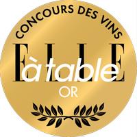 Médaille d'or concours des vins elle à table 2018